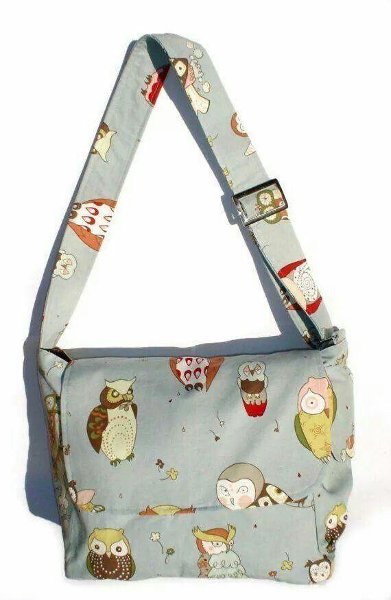 Curious Owl Messenger Bag - Plus Size - Curvy Fashion - Bold - Unique - Renegade