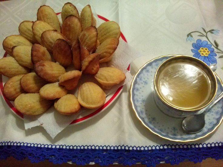 Sabores da AnaLu: Madalenas aromatizadas com chá Earl Grey