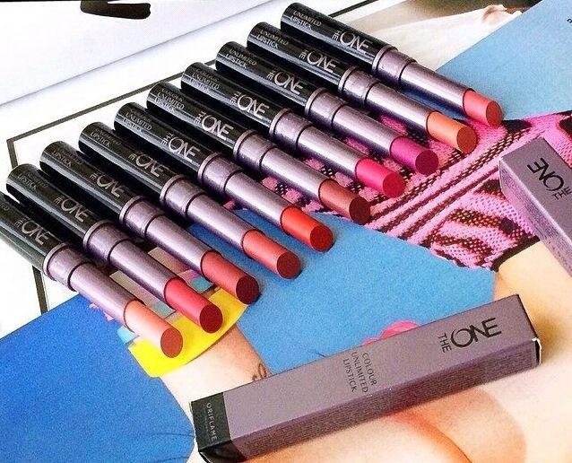 Son môi bền màu và dưỡng ầm oriflame -  The ONE Colour Unlimited Lipstick