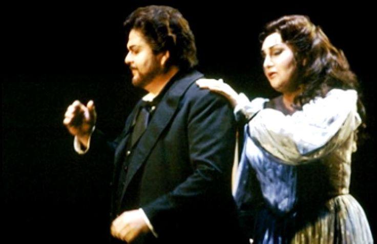 Great Romanian soprano Maria Slatinaru Nistor & tenore Carlo Cossutta - La Forza del Destino- San Francisco Opera 1986