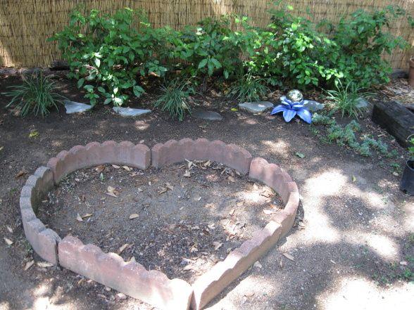 memory garden ideas | Pet Memorial Garden, This garden came of burying my little kitty of 18 ...