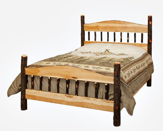 Sleep In Comfort On A Hickory Panel Bed Which Is Handcrafted And Made To Order By Amish Craftsmen That Have Been Making Hickory Furniture For Over 25 Years