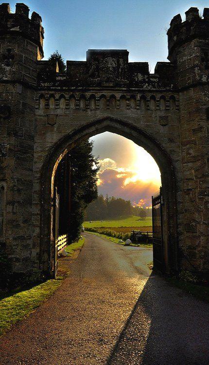 Castle Gate, Scotland, UK