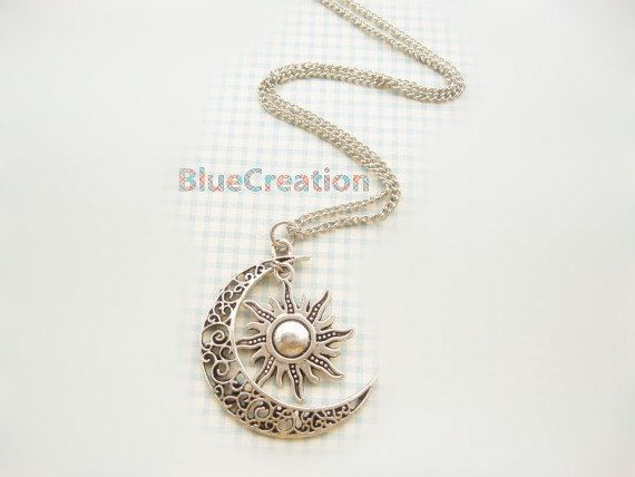 Material-Zinc Alloy Metal (Nickel & Lead Free )    Size-pendant size: 2.8cmx4 cm   chain length: 60 cm    Color - Antique Silver tone/Antique Bronze