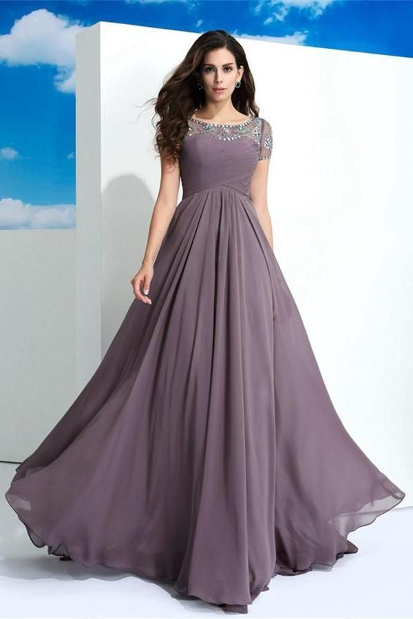 Mejores 108 imágenes de Chiffon Dresses en Pinterest   Vestidos de ...