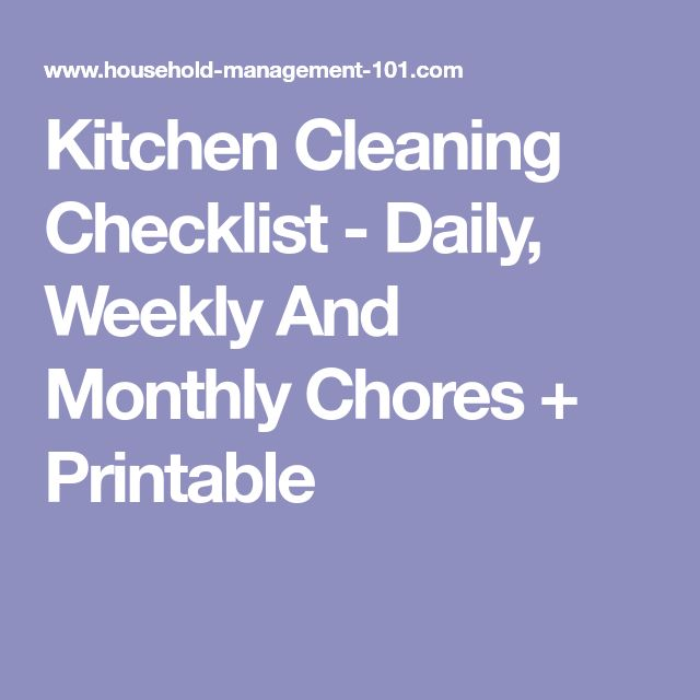 Best 25+ Daily cleaning checklist ideas on Pinterest Daily - weekly checklist