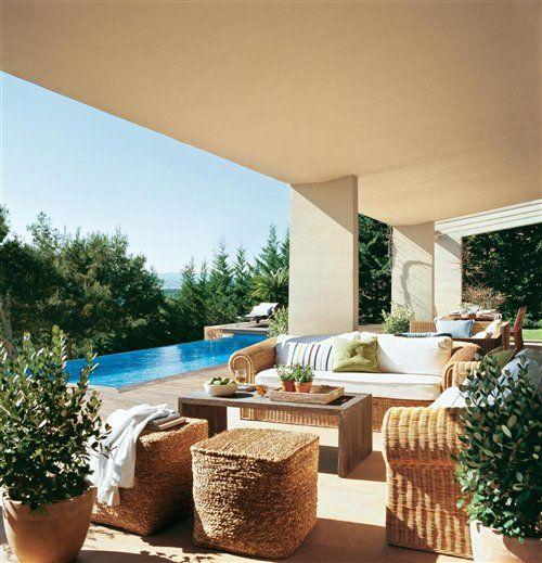 55 mejores im genes sobre terraza porche en pinterest for Muebles para terraza al aire libre