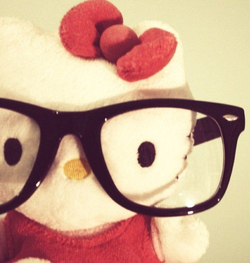 Nerdy Hello Kitty