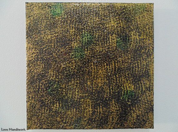 Gold & Black Textured Multi Colour Abstract by LoveHandyWork
