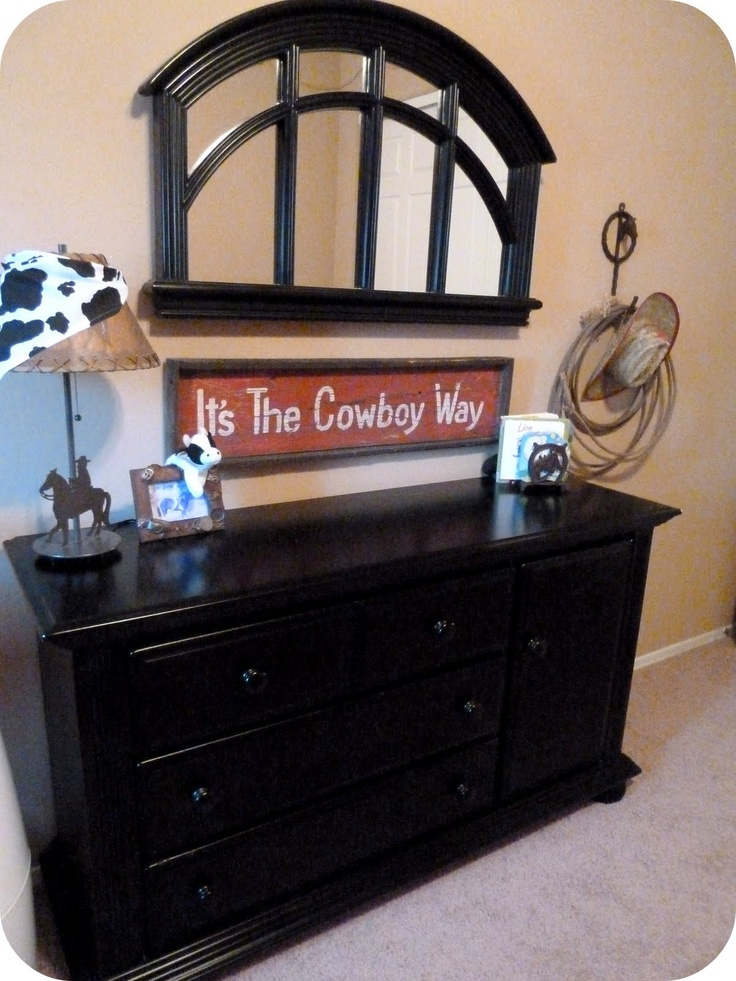 cowboy nursery--so cute..Jordyn DeMers I better see something like this when you have babies!