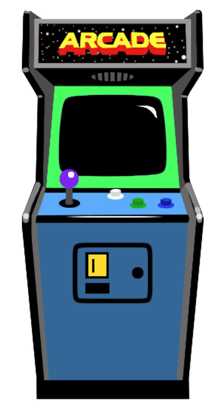 Image Result For Arcade Game Clipart Arcade Drawing
