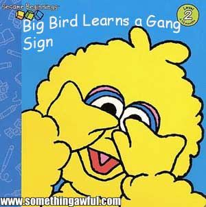 Big Bird Learns Gang Signs | book parody | humor