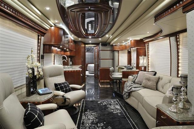 The 25 best tour bus interior ideas on pinterest luxury Tour bus interior design