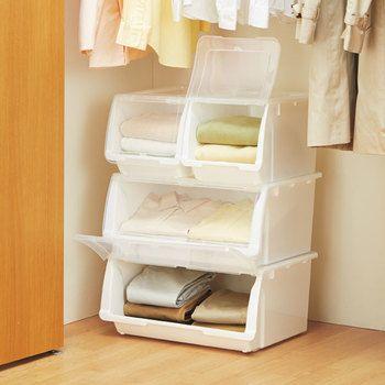 あなたのクローゼットに合う収納ケースはどれ?無印・IKEA・ニトリを ... パッと取り出せるので、シャツやタオルなどを収納するのに便利。
