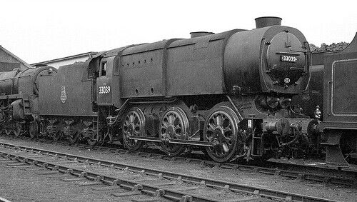 BR (Southern) 'Bullied' Q1 class austerity 0-6-0