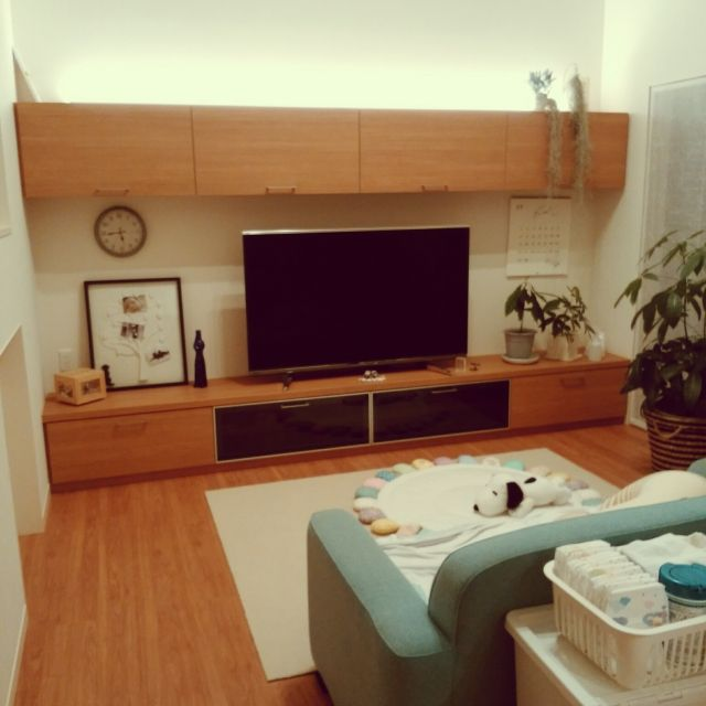 lamikaさんの、リビング,テレビ台,子どものいる生活,のお部屋写真