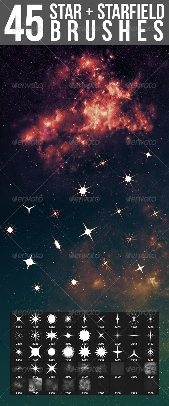 http://graphicriver.net/item/45-star-starfield-brushes/4659148/?ref=nada-images