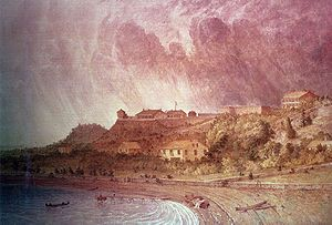 Michilimackinac was the French name for the location of Fort Mackinac (U.S.) It was the furthest west major trading hub. It linked Montreal with trappers on the Great Lakes and Mississippi River.