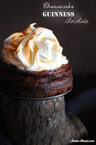 Guinness Chocolate Cheesecake Recipe — Dishmaps