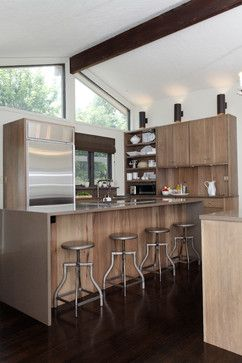 Contemporary Open Concept Kitchen Kitchens By Design Indianapolis