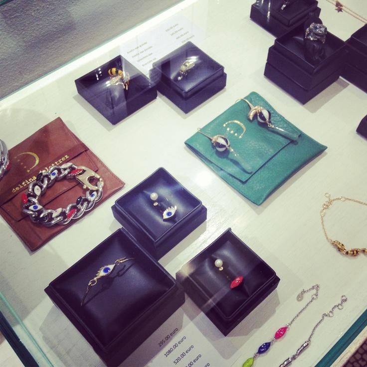 Delfina Delettrez jewelery! #delfinadelettrez #jewelery #bracelet #ring #earring #dolcitrame