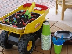 monster truck birthday party ideas - Google Search