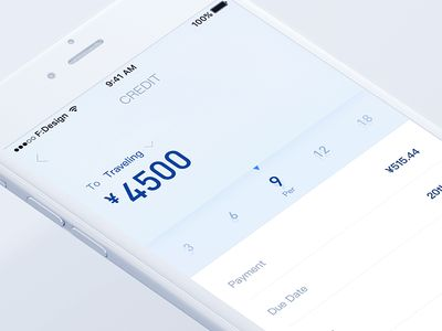 Redesign Credit Line
