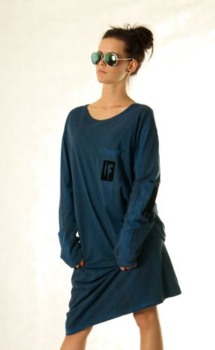 Sukienka IF Mystery dark blue