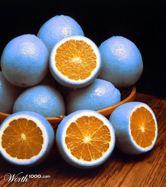 Orange Blue   Flickr Blog