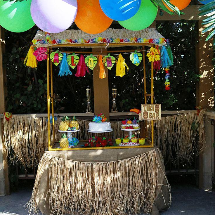 Inspiration Photo Tiki Hut: Pool Party Decorations, Luau