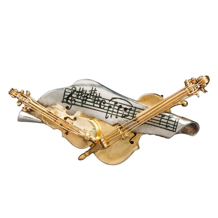 Alilang Elegant Light Topaz Brown Crystal Violin Bow Cello Fiddle Guitar Music Instrument Brooch Pin pZy0VA8O
