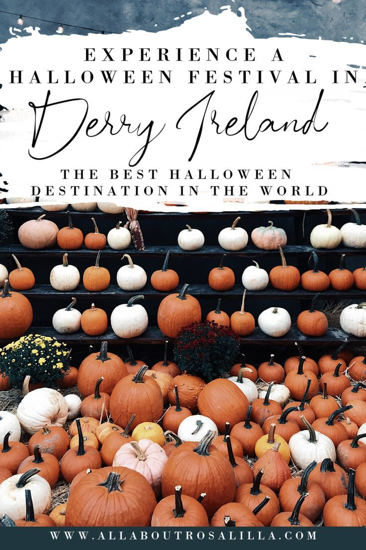 Dublin Halloween Festival 2020 The best Halloween festival in the world   All About RosaLilla in