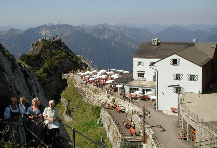 I'd like to have a beer on this terrasse in Wendelstein, Bavaria Germany