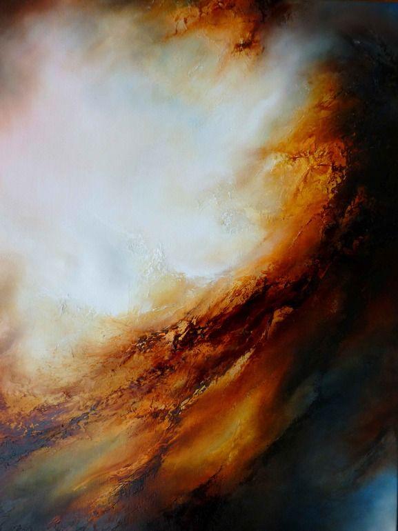 "Simon Kenny; Oil, 2013, Painting ""Perdition"""