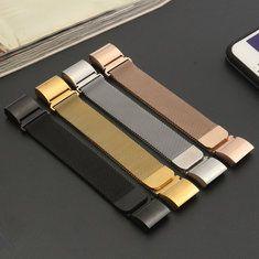 #Banggood Замена браслет ремешок из магнитного металла для Fitbit заряда 2 частота сердечных сокращений трекера монитор (1107627) #SuperDeals