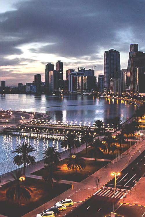 Imagem de city, light, and night