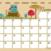 Free printable 2013 Calendar. Using it for LadyHoliday.net's Editorial Calendar! :)