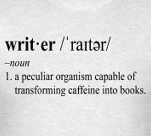 An alternate definition of writer. #writer