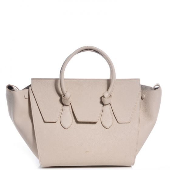 CELINE Grained Calfskin Tie Knot Small Tote | #cccgiftguides ...
