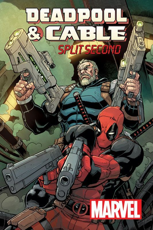 Well, well, well, look who got back together!  New Cable and Deadpool series by Fabian Nicieza and myself!  You know you can't even wait! http://www.comicbookresources.com/article/nicieza-brown-reunite-for-new-deadpool-cable-split-second-series