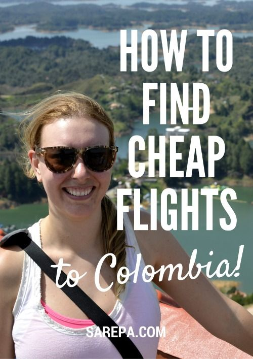 Click here for information about how to find cheap tickets to Colombia!