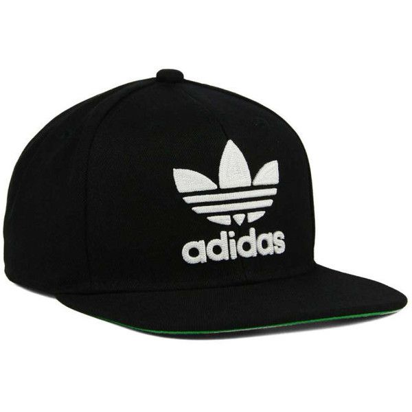 adidas Originals Thrasher Snapback Cap (£19) ❤ liked on Polyvore featuring accessories, hats, snapback hats, adidas originals, adidas originals snapback, caps hats and adidas originals hat