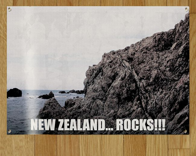 new zealand rocks All of Murrays New Zealand Tourism posters from Flight of the Conchords