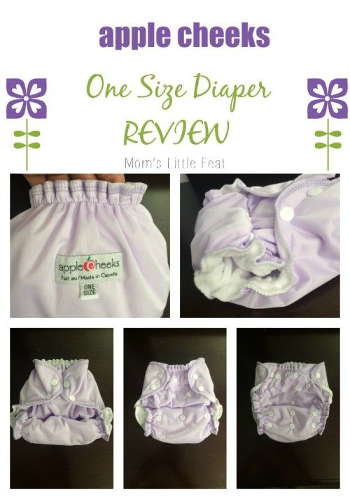 AppleCheeks One Size diaper Review