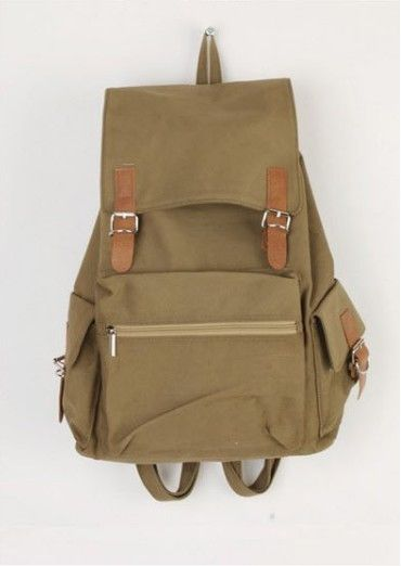 Unisex Fashion Vintage Casual Canvas Backpack school bag large Rucksack trolley Bag 4 Colors holiday sale wholesale 4-YHZ252
