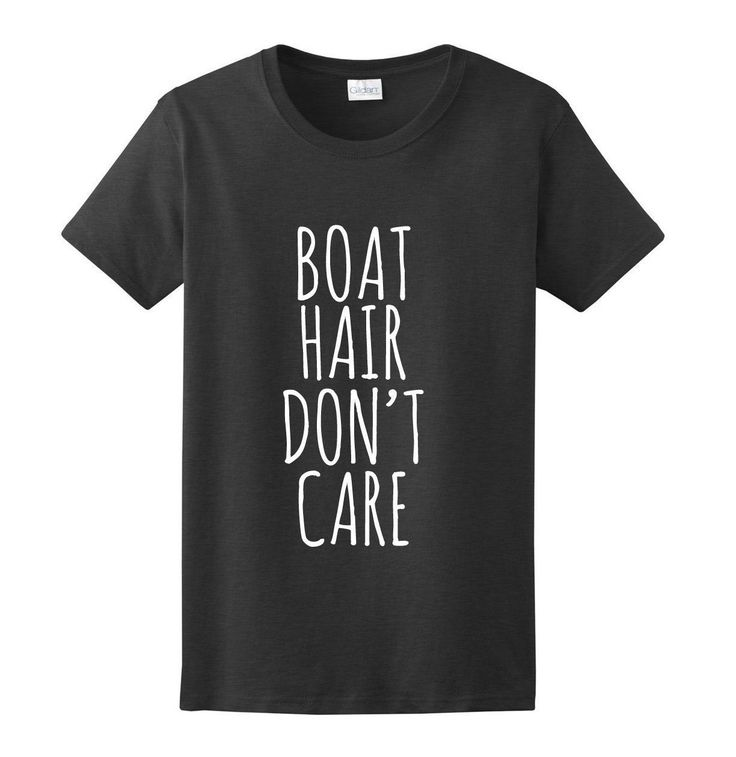 Boat Hair Don't Care, Women's Graphic T-Shirt