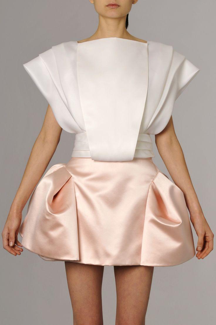 Robe en soie Dice Kayek - Robe mariage civil : robe mariage courte, robe pour…