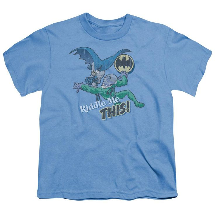 Batman - Riddle Me This Short Sleeve Youth 18/1