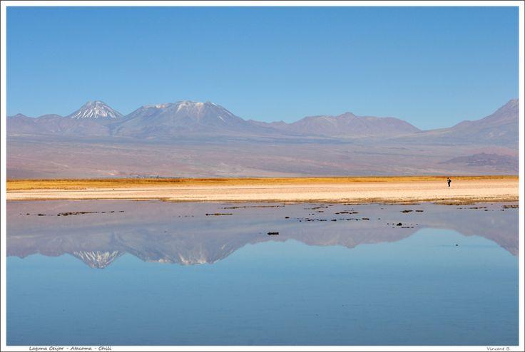 Laguna Ceijar, Atacama, Chile