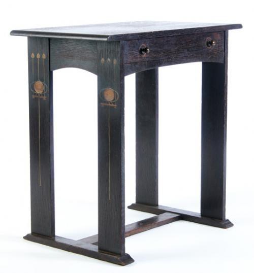 Gustav Stickley Harvey Ellis Designed Library Table 30